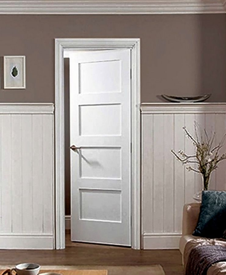 MDF_TruStile Doors come in several panel options and have a durable, easy-to-clean finish.