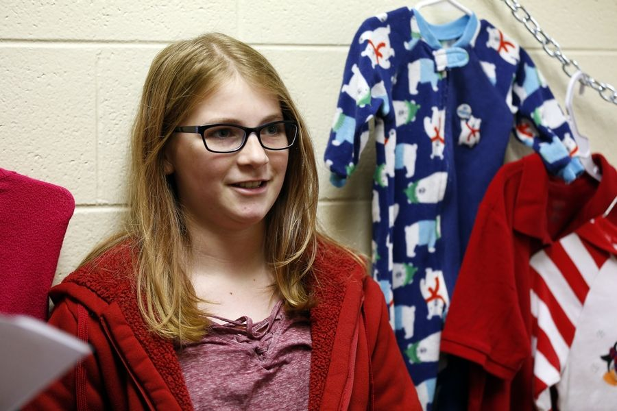 Lily Seibert, 12, a Dundee Middle School student, came up with the idea for a pop-up event to donate clothes to families in need. Her initiative, Lily's Community Closet, partnered with a similar Dundee Township program.
