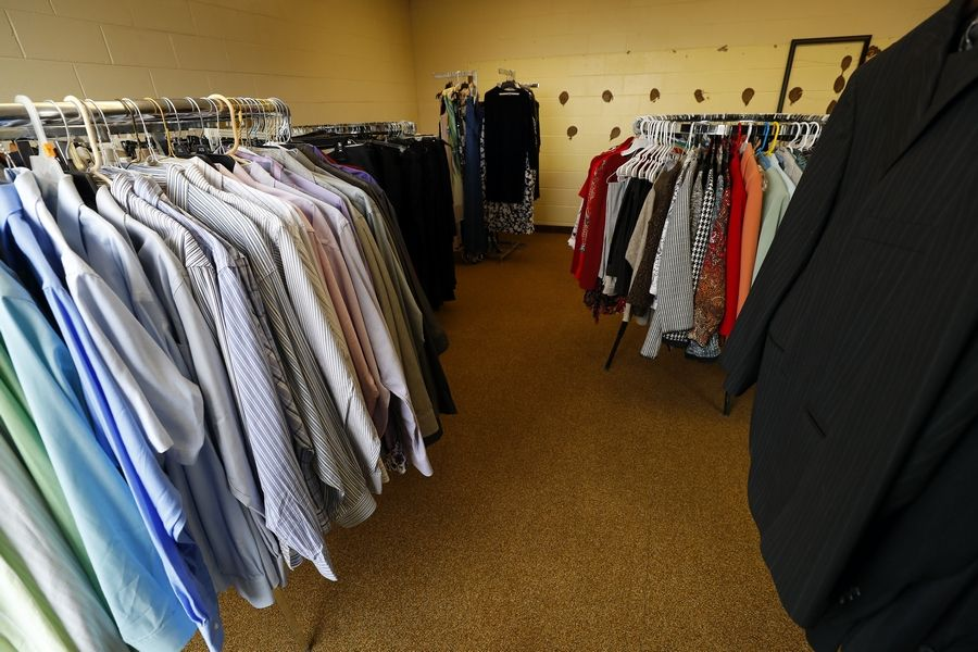 Dundee Township had a grand opening Thursday for Cares Community Closet, which offers free clothing to families in need.