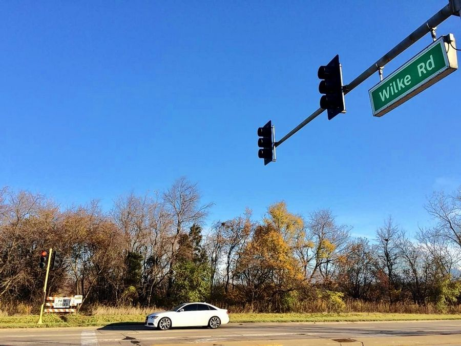 Arlington Heights officials are seeking support for a safe crossing to the Buffalo Creek Forest Preserve at Lake-Cook Road and Wilke Road.