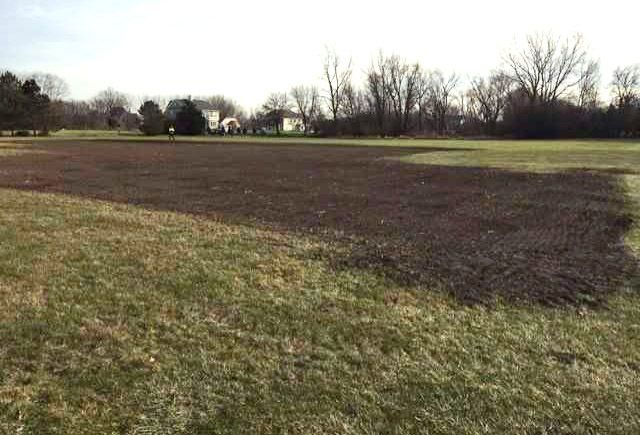 Meadowlark Arbor Park to be built next spring at this site on Schwerman Road west of Gilmer Road in Hawthorn Woods.