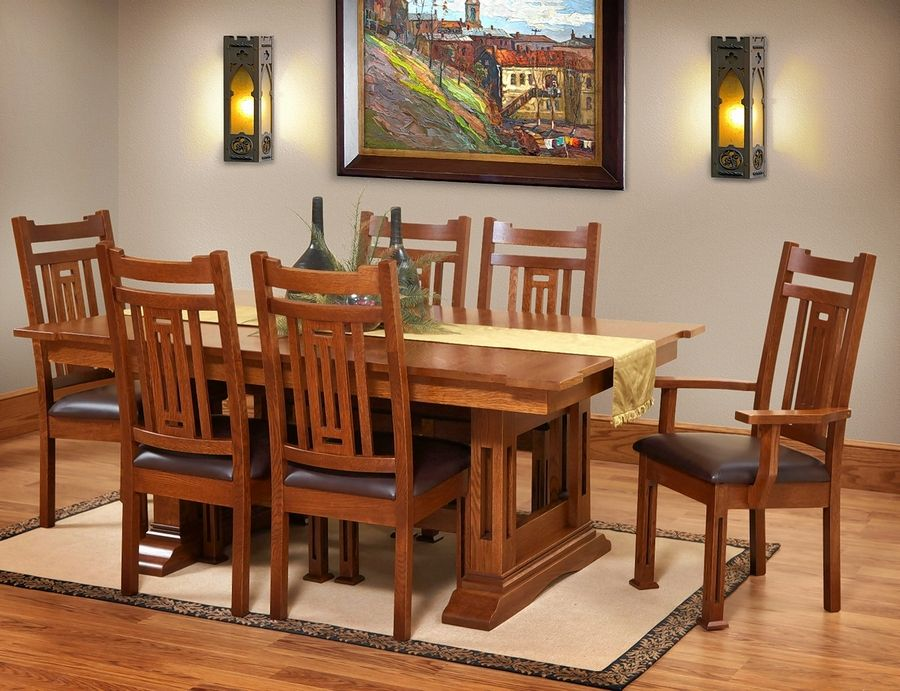 Dining tables and chairs can be mixed and matched at O'Reilly's, giving the customer the greatest flexibility.