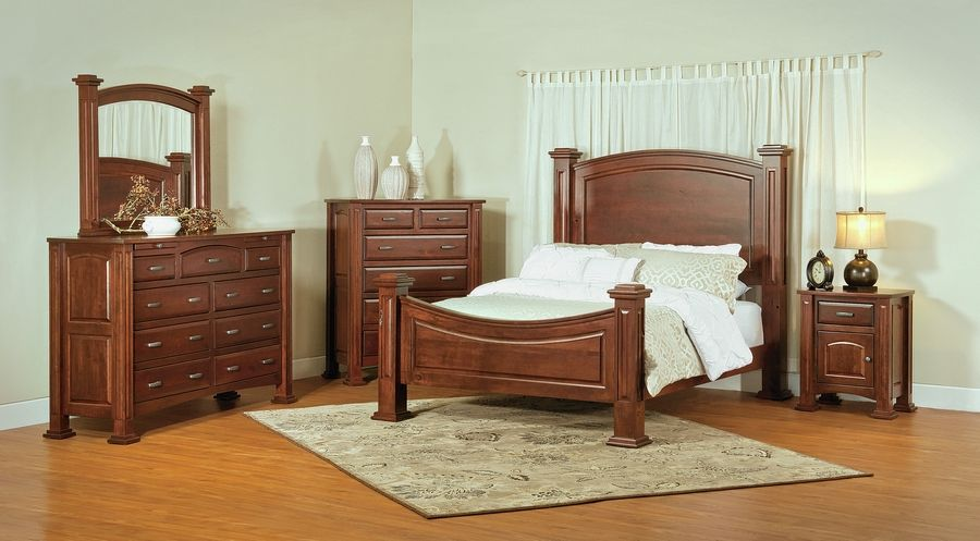 O'Reily's Furniture and Amish Gallery offers 15 bedroom sets on its showroom floor so customers can envision how they would work in their own homes.