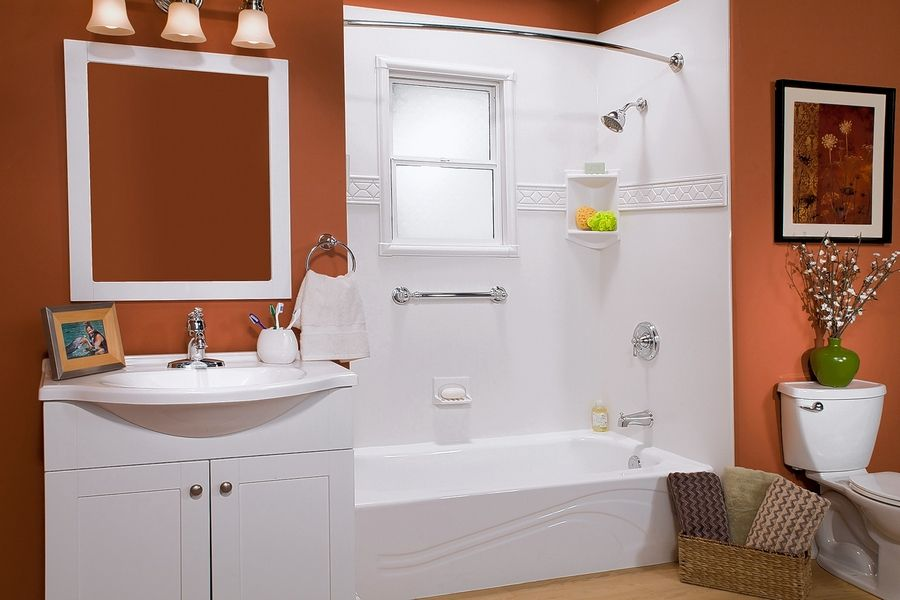 It takes seven to 10 days to  manufacture your custom-fitted bath improvement, but installation takes just a day, so you could have a new room for your Thanksgiving Day guests.