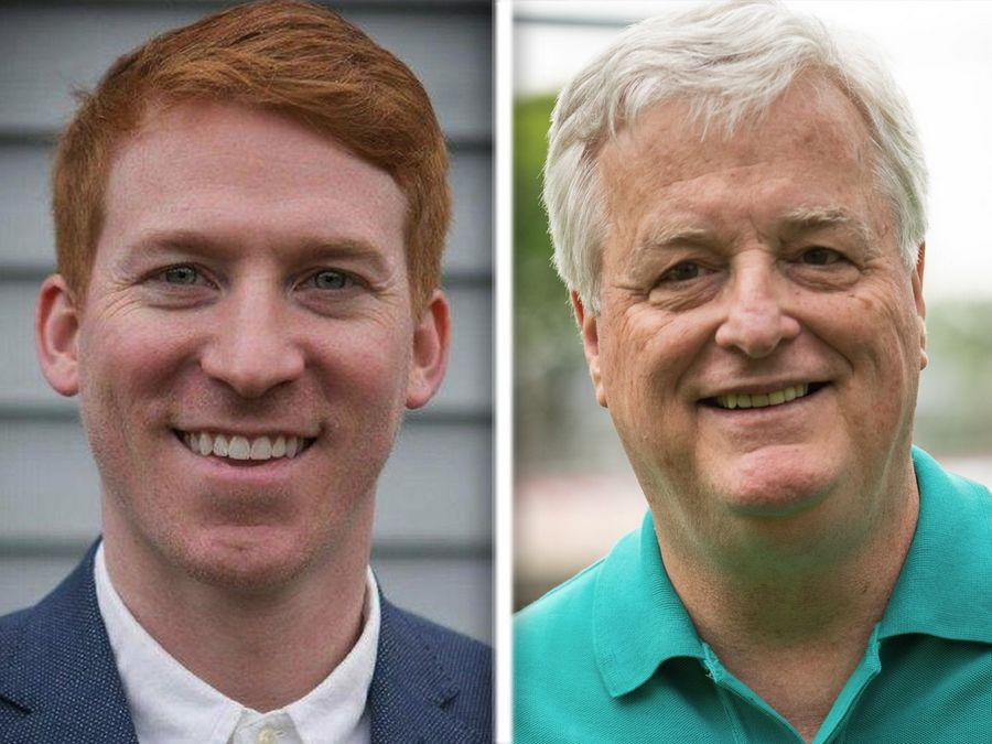 Republican Eddie Corrigan, left, faces Democrat Mark Walker in House District 53.
