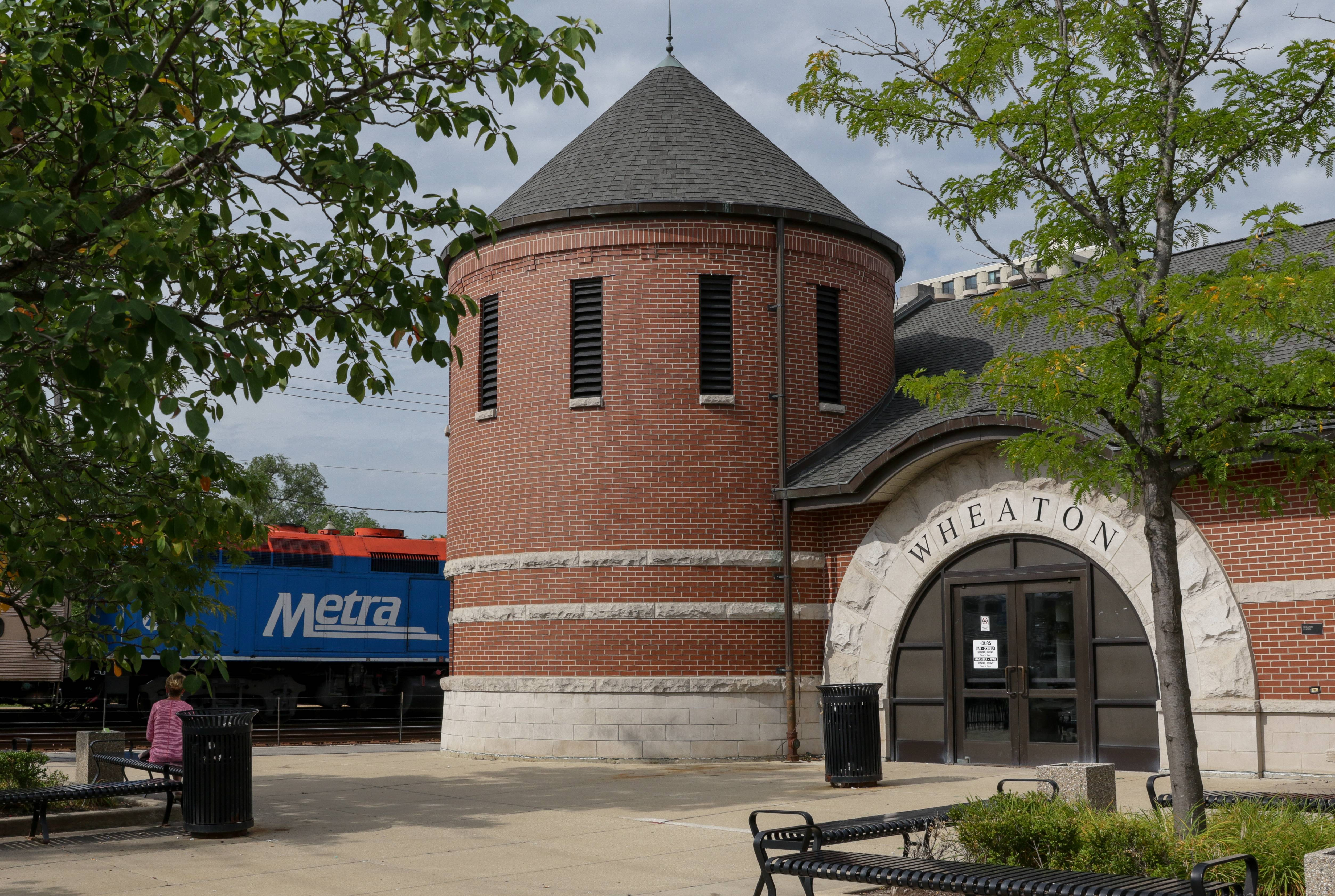 Wheaton's Metra station reopening with fire damage repaired