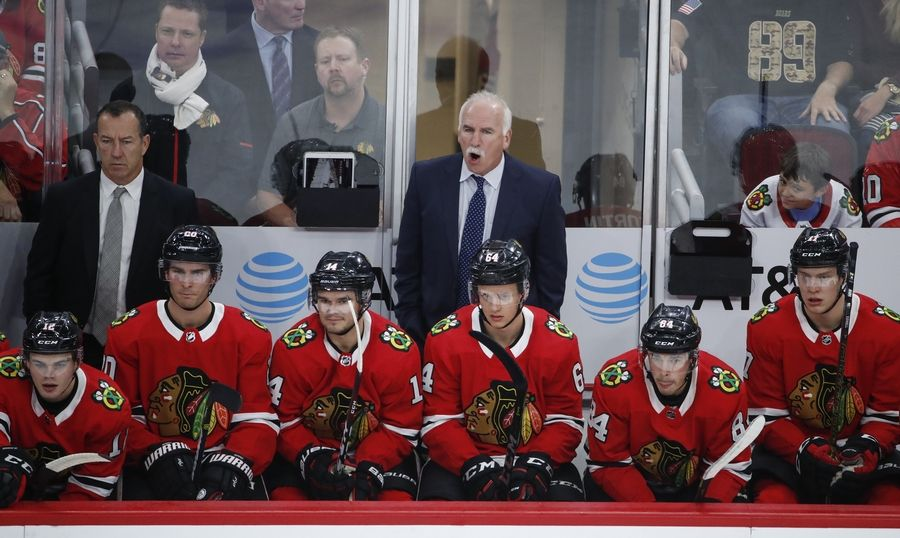 The Chicago Blackhawks fired coach Joel Quenneville Tuesday.