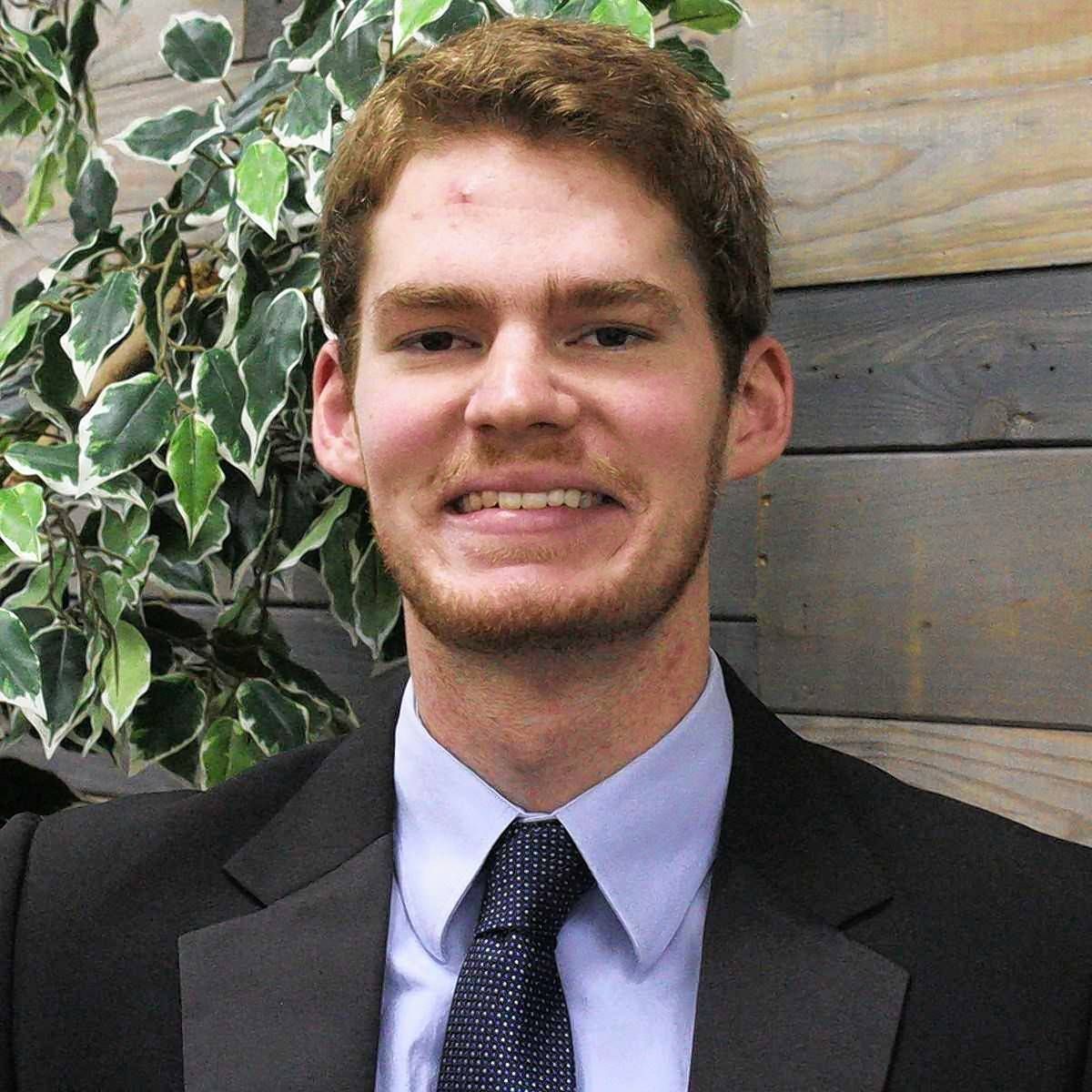 "Senior Nathanael DeLong, of Mendota, will present his MicroPHONE app idea during Judson University's ""Shark Tank"" business pitch contest Nov. 15."