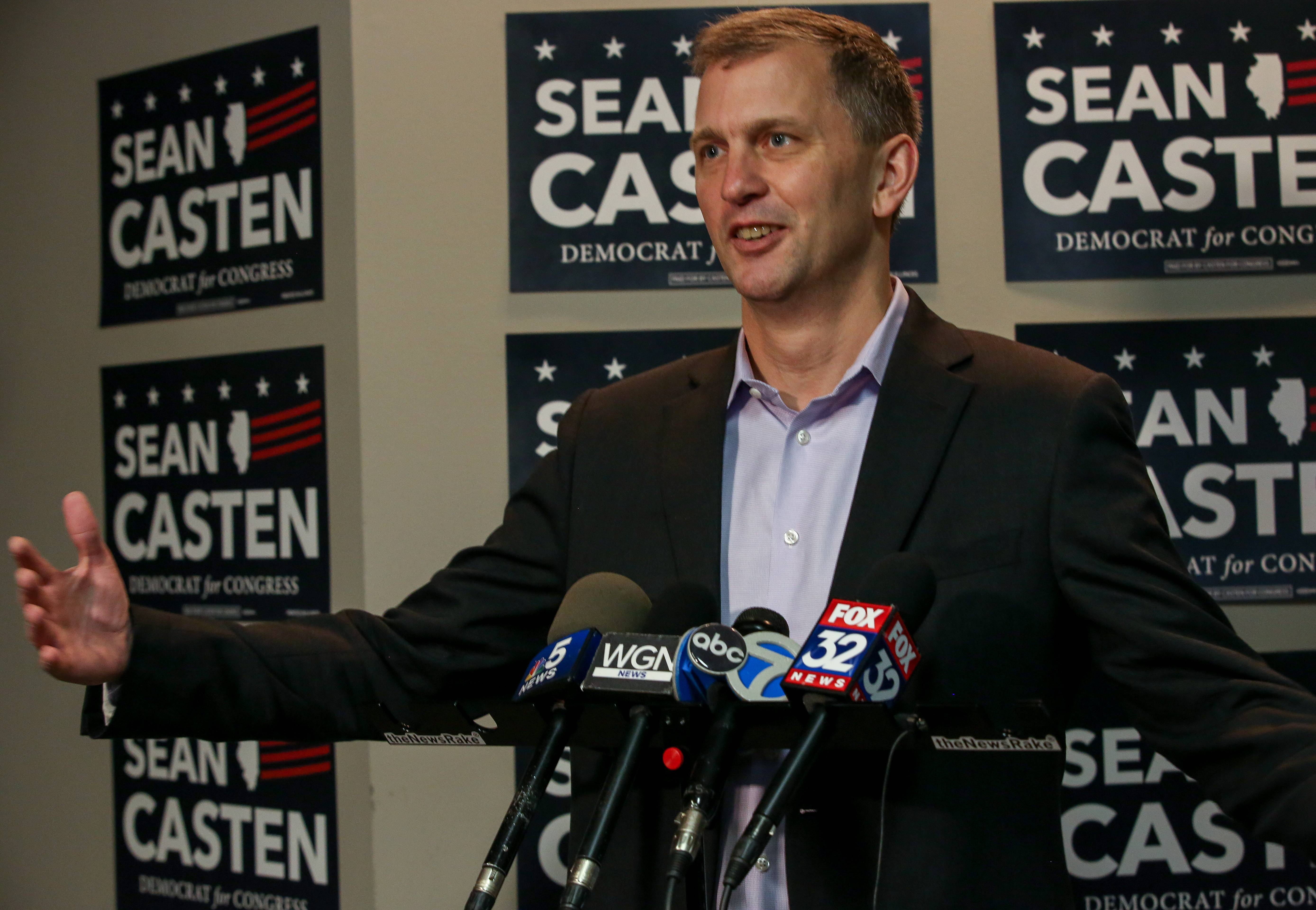 Democrat Sean Casten says his job now, after winning a U.S. Congressional election in the 6th District, is to represent constituent interests in Washington, learn to govern and advance policy on issues such as climate change and health care.