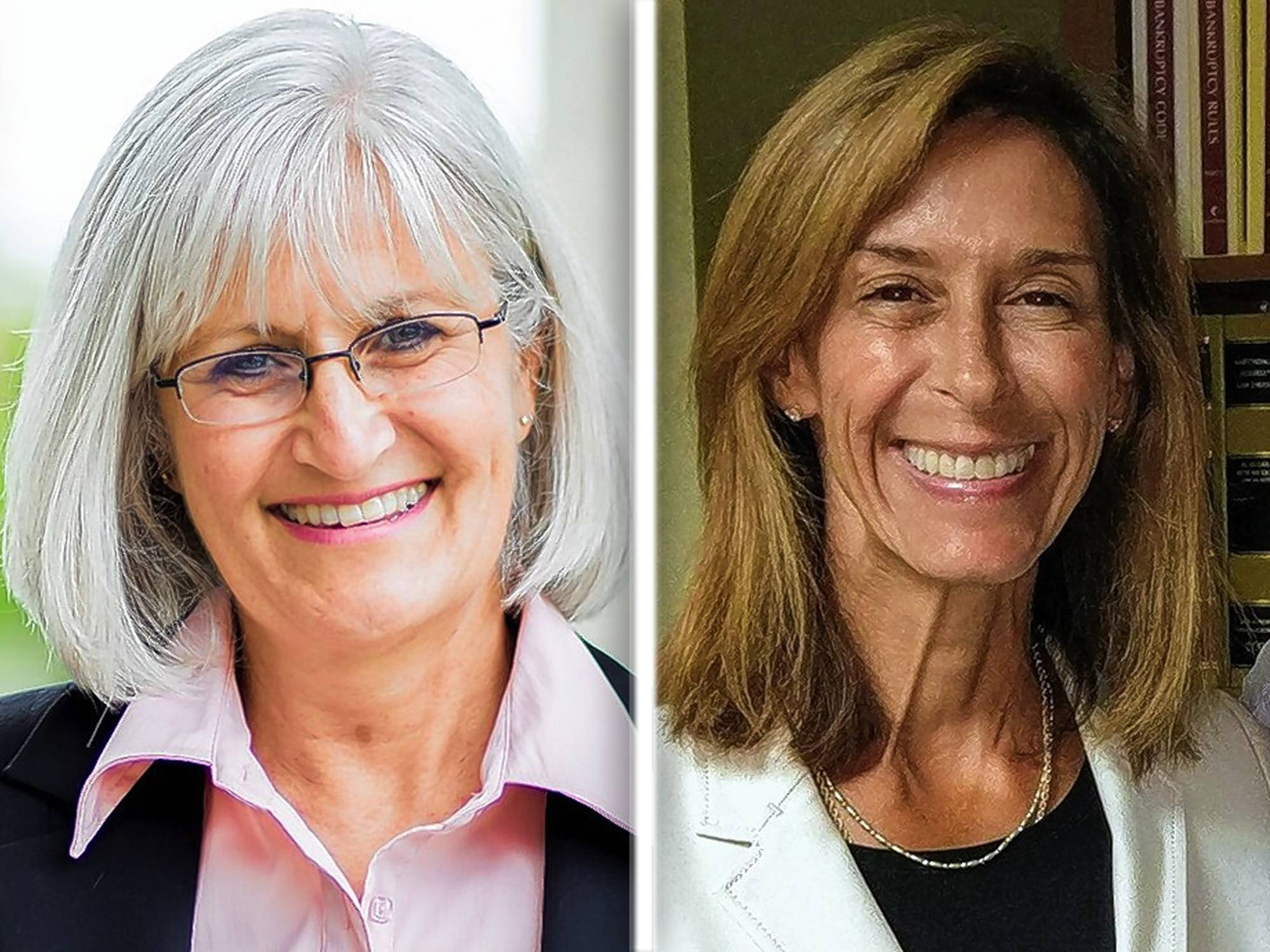 Democrat Mary Edly-Allen, left, trails Republican state Rep. Helene Miller Walsh by one vote in the 51st House District election. The district includes all or portions of the Barrington area, Lake Zurich, Long Grove, Libertyville and Mundelein.