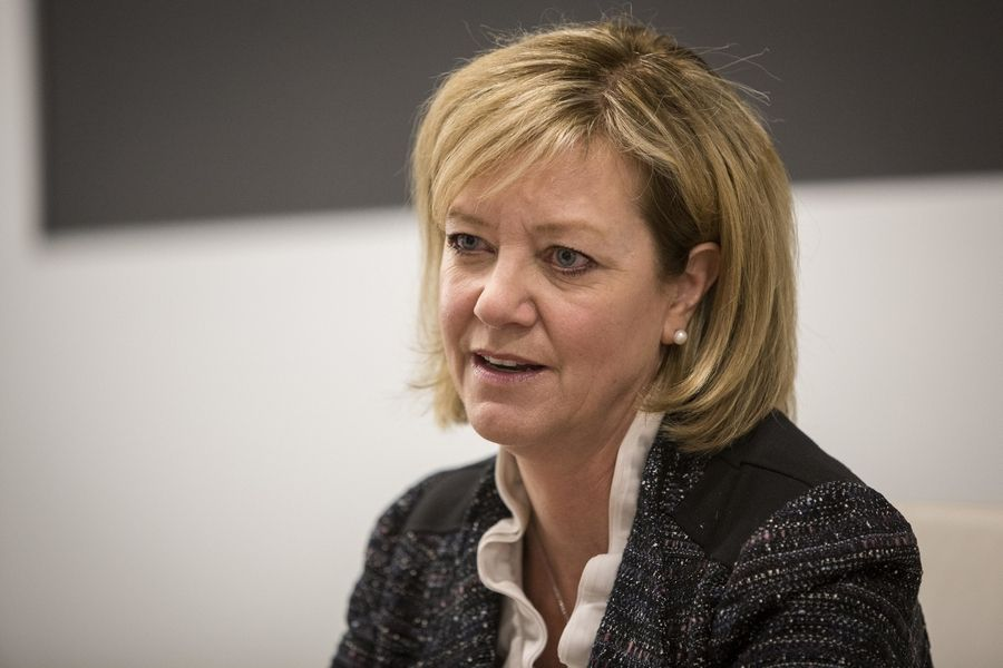 Conservative Republican state Rep. Jeanne Ives of Wheaton, who narrowly lost to Gov. Bruce Rauner in the GOP gubernatorial primary, said state party leadership failed this election cycle.