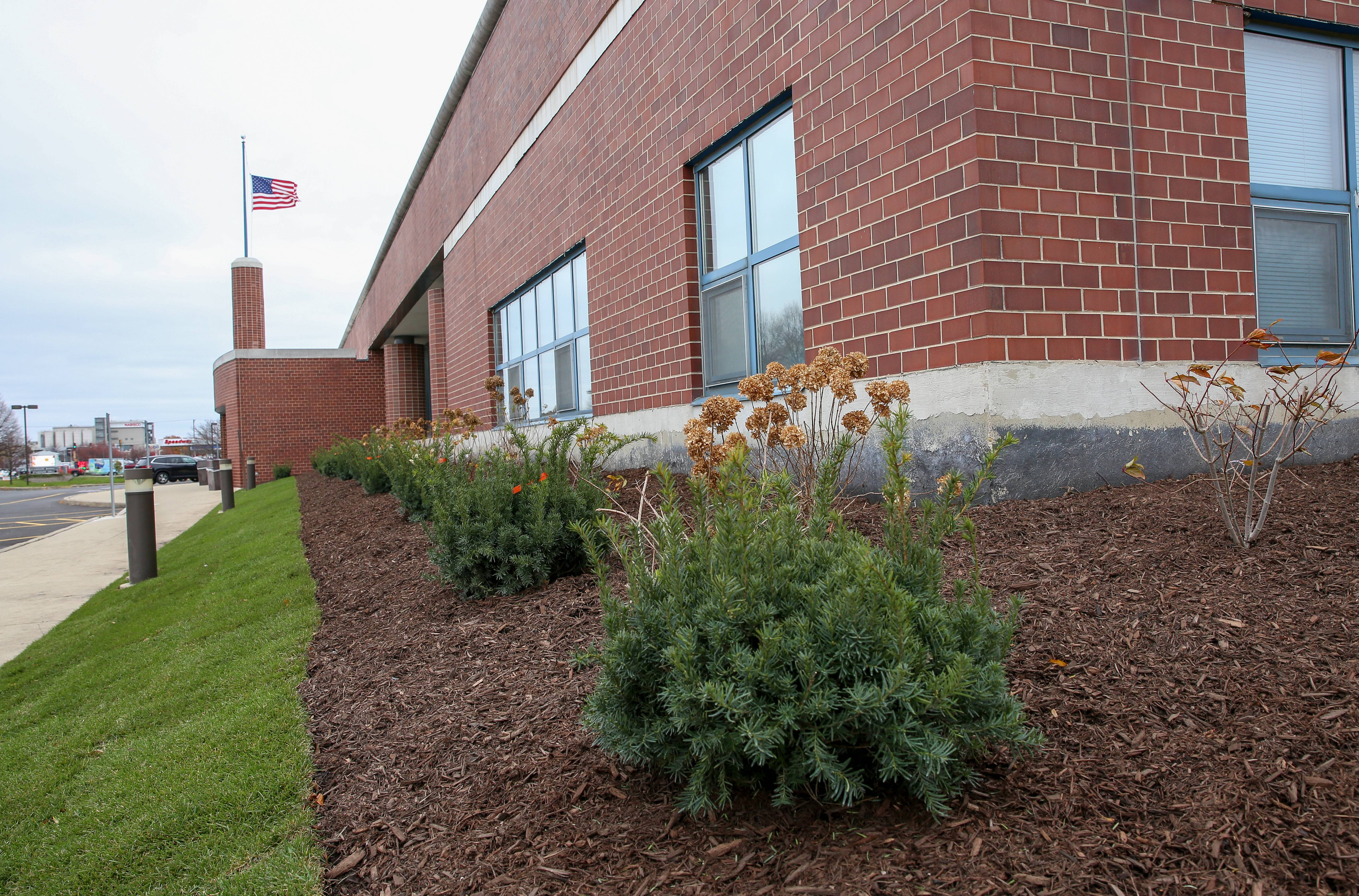 The U.S. Postal Service Has Installed Some New Plantings In The Place Of A  Former Pollinator