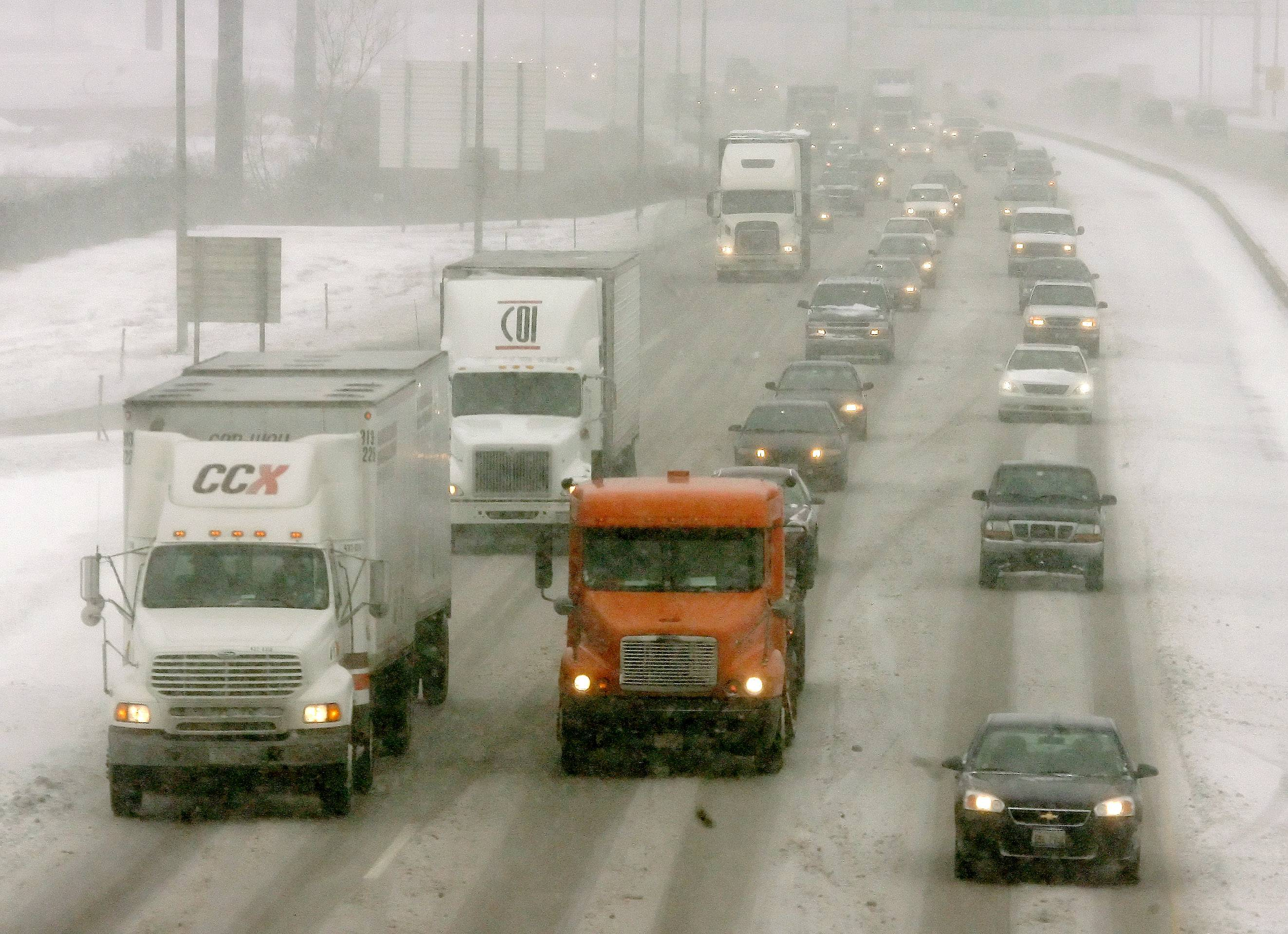Snow could affect your commute on Friday morning.