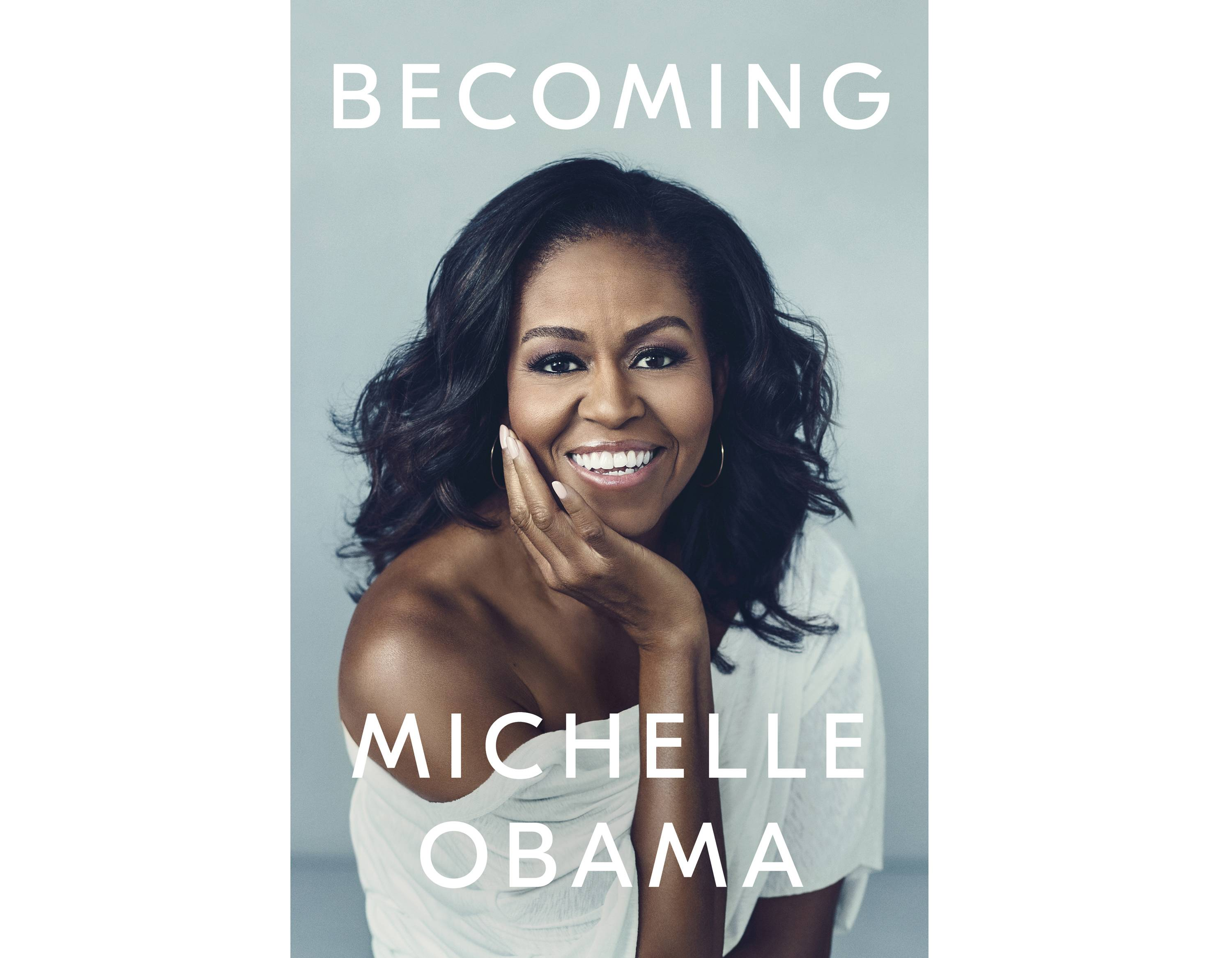 "Michelle Obama discusses her memoir, ""Becoming: An Intimate Conversation With Michelle Obama,"" Tuesday, Nov. 13, at Chicago's United Center."