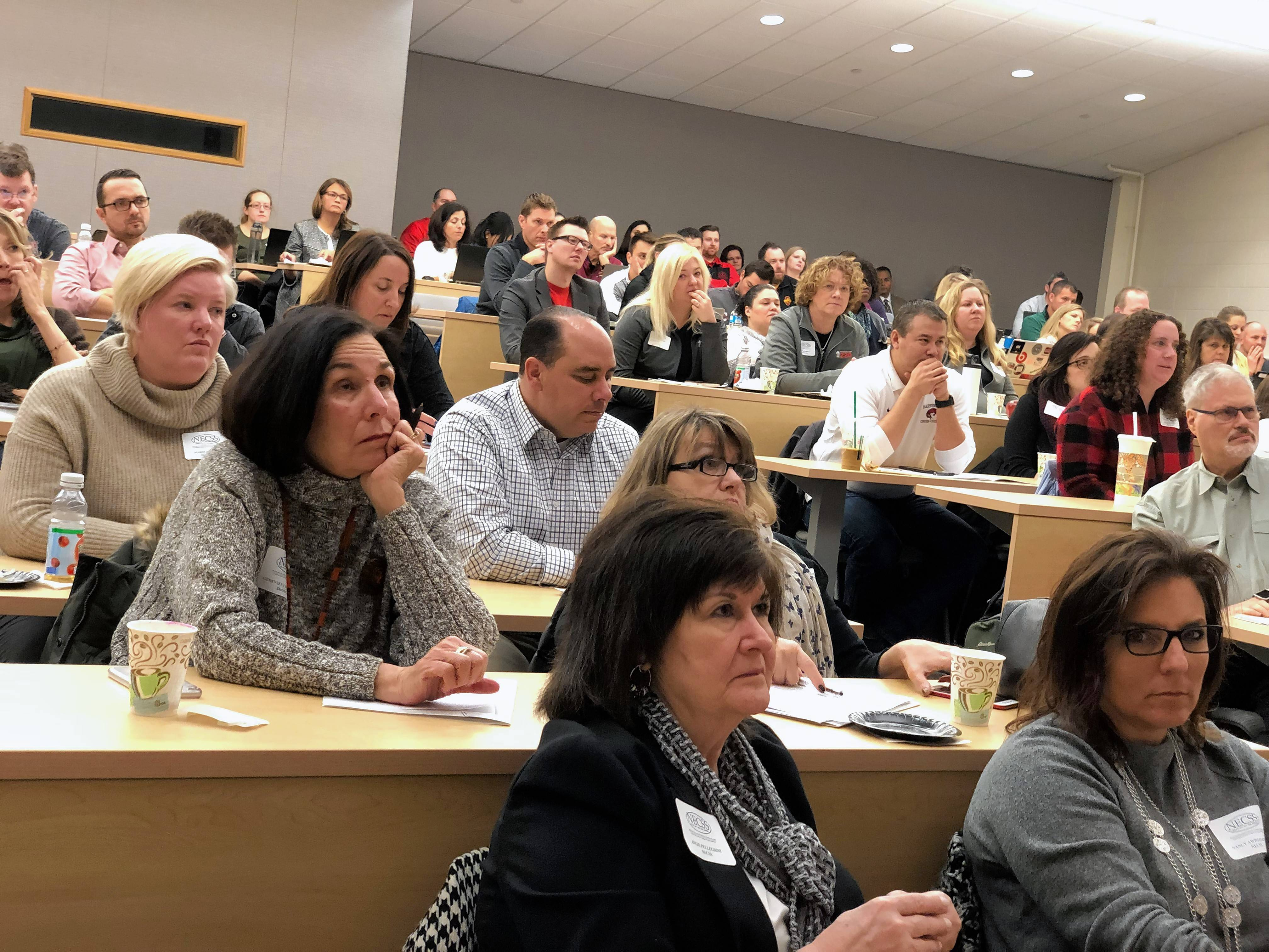 Educators and civic, corporate and nonprofit leaders came together Friday at Harper College in Palatine to discuss the impact of poverty in the suburbs.