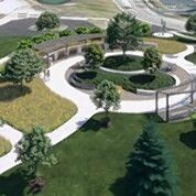 Rendering of the proposed Laschen Park in Vernon Hills