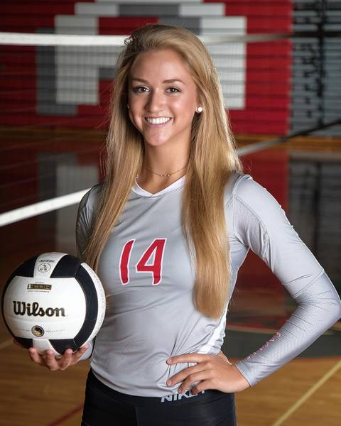 girls volleyball fox valley all area team