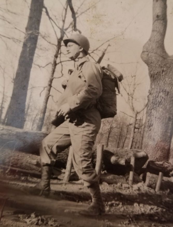 Bernie Bluestein of Schaumburg served in the Ghost Army in Europe during World War II. The unit's primary task was to deceive German forces about the Allies' whereabouts.