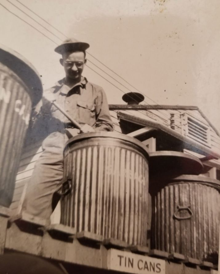 Schaumburg resident Bernie Bluestein was part of a U.S. Army unit during World War II that used fake tanks, noise and other forms of deception to deceive German forces.