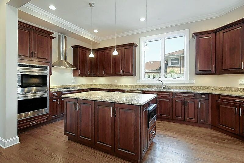 Kitchen Planet will provide new cabinet doors and reface your existing cabinets in a color to match.