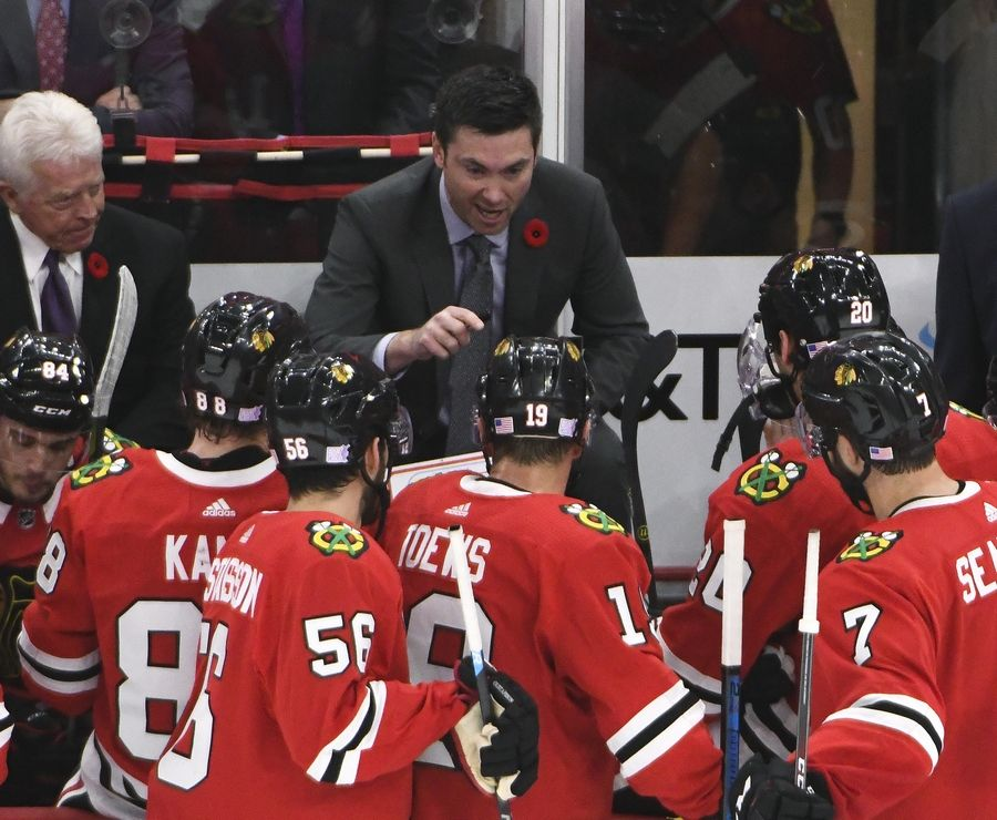the best attitude 960e3 b5b4f Rozner: Chicago Blackhawks' maintain goal is playoffs now