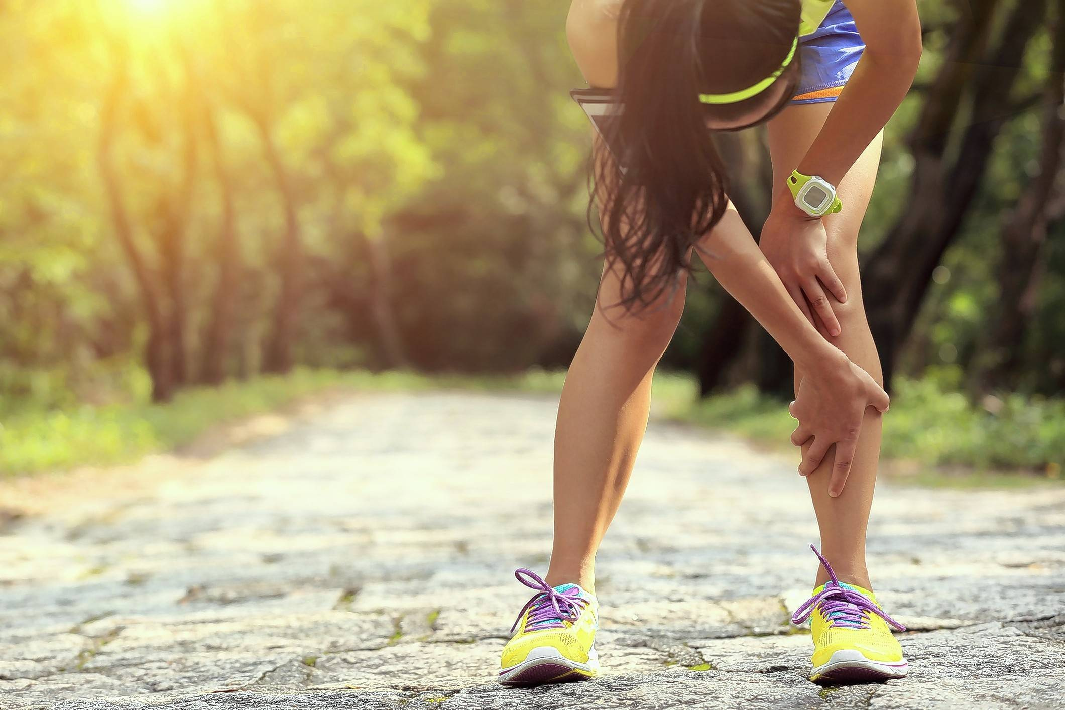 With running, pushing through pain can lead to a secondary injury, doctors warn.