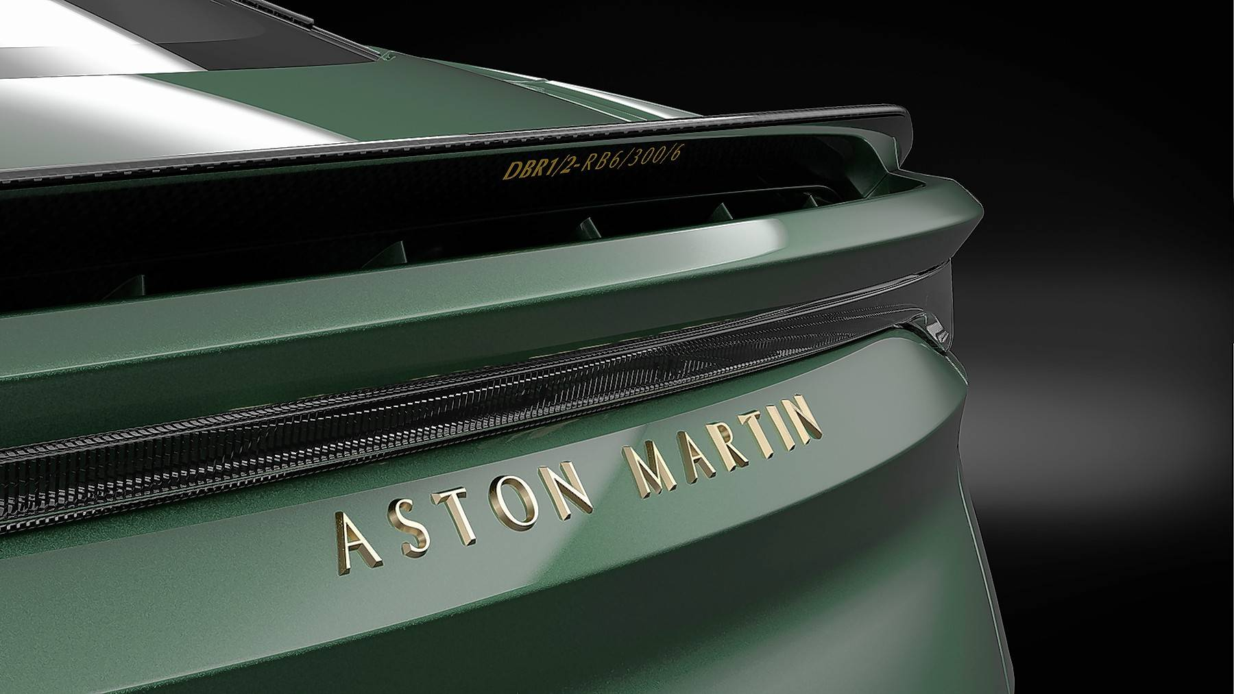 Each of the 24 DBS 59s come with a matching two-piece luggage set a car cover in matching Aston Martin Racing Green.