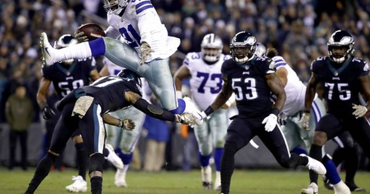 23fe2cf66f6 Elliott takes giant leap needed to lift Cowboys past Eagles
