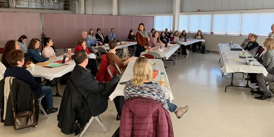 Representatives from Round Lake Unit District 116 and the BEST kindergarten readiness committee on Tuesday kicked off the Mountaintop Project, a new initiative to prepare all 5-year-olds for kindergarten.