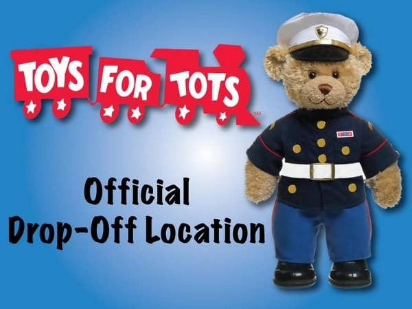 The West Chicago Police Station 325 Spencer St Is Partiting In Toys