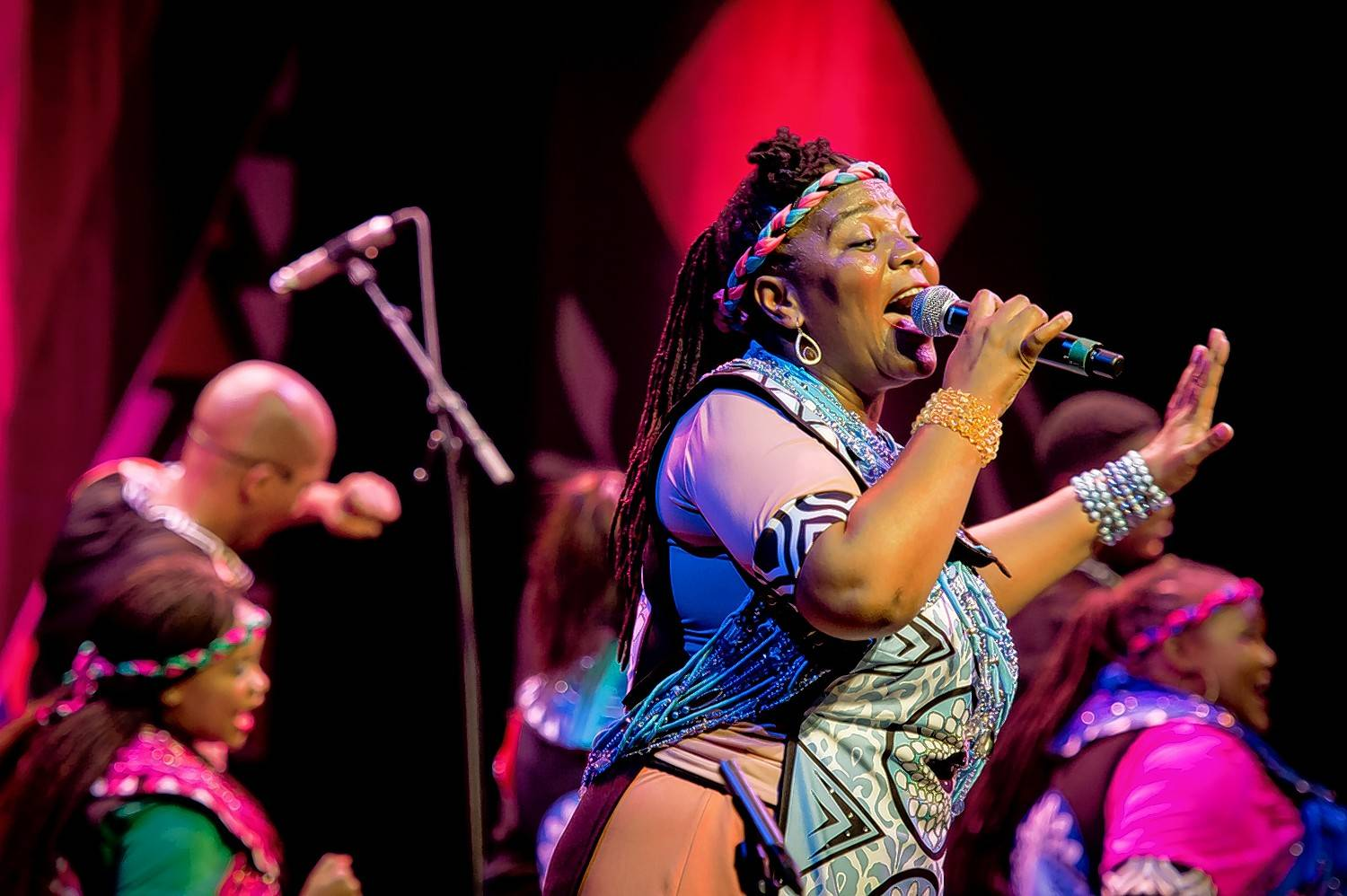"The Soweto Gospel Choir performs its ""Songs of the Free"" program Friday, Nov. 16, at Chicago's Symphony Center."