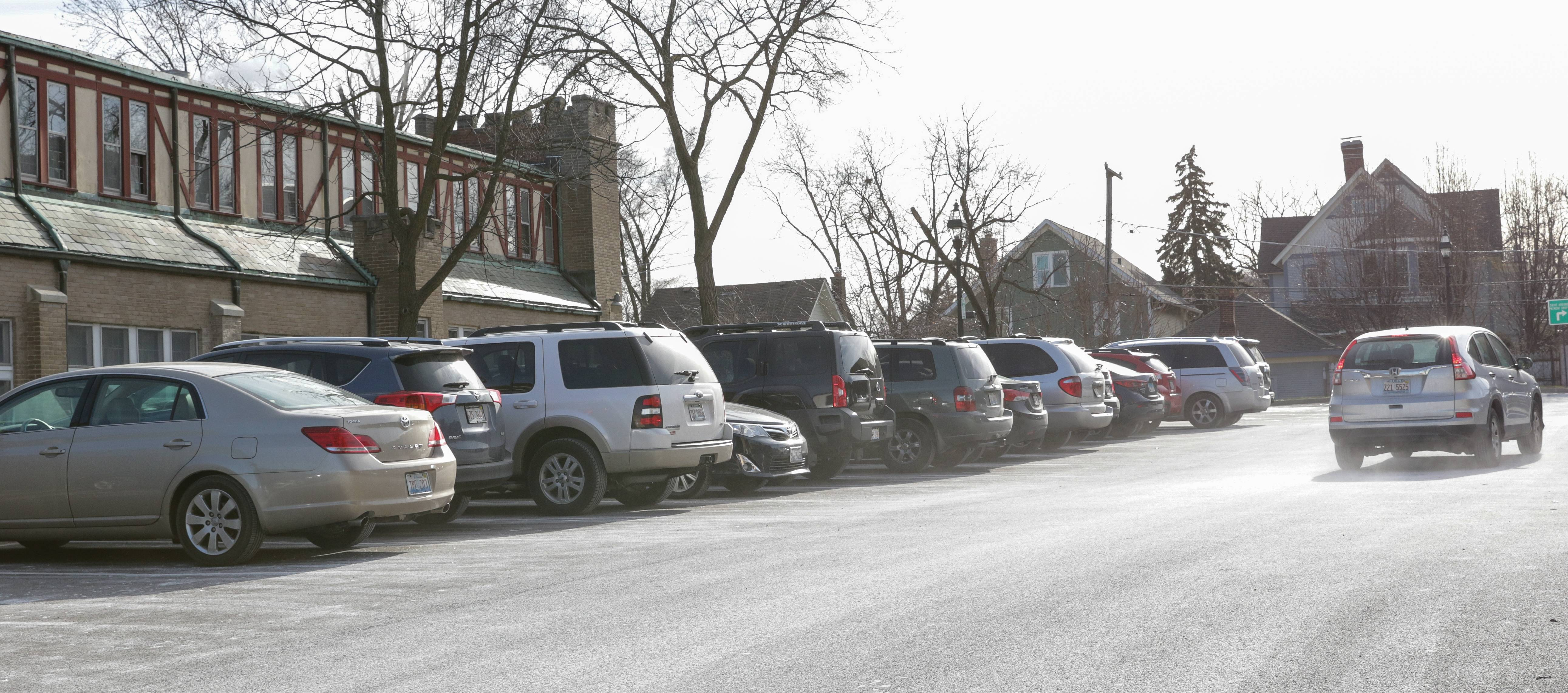 A proposed parking garage at the Civic Center parking lot in downtown Glen Ellyn could cost roughly $10 million to $15 million.