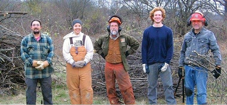 On Green Friday, Nov. 23, the McHenry County Conservation District invites you to stop by for an hour or two to give back to the land.