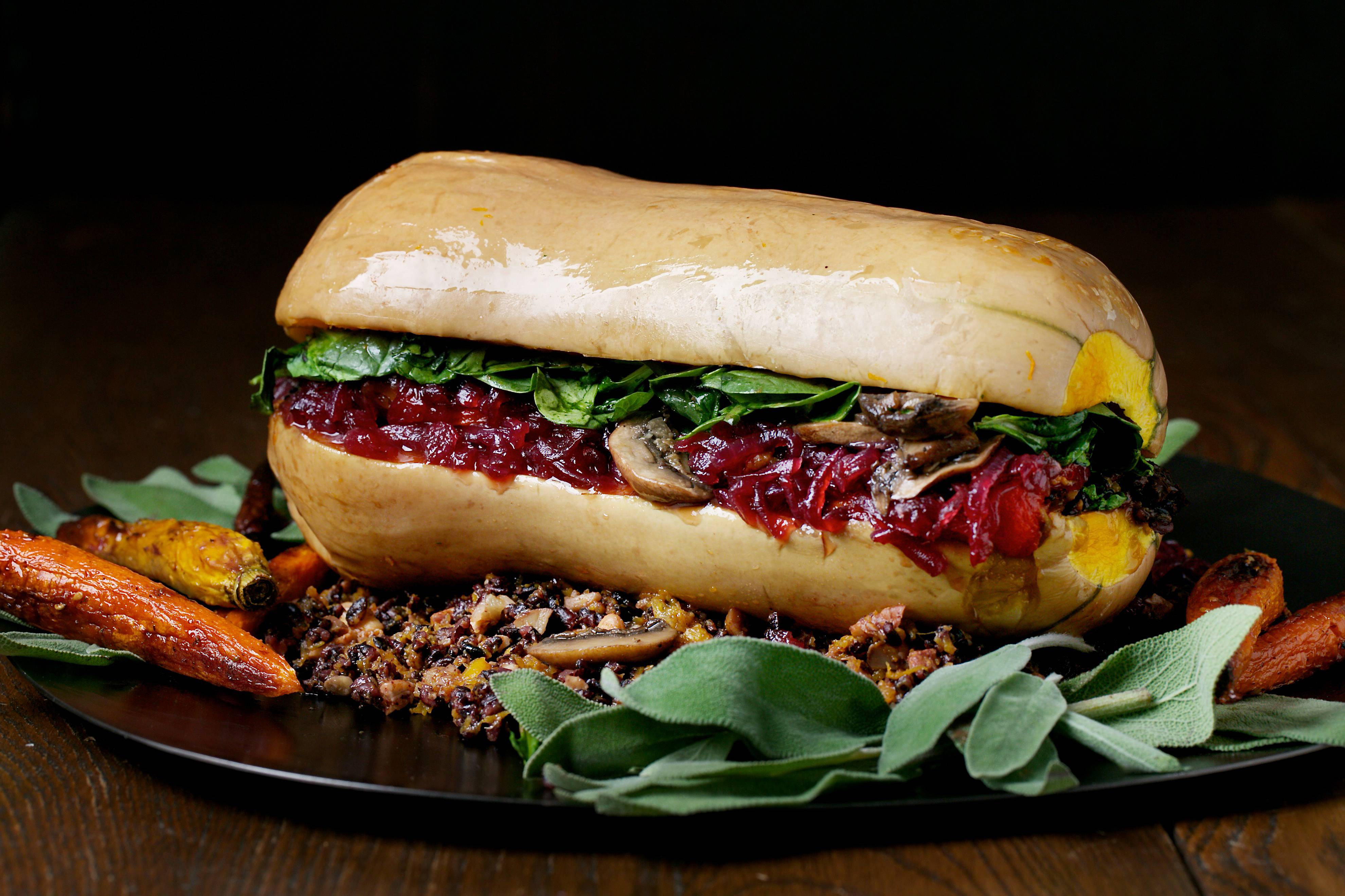The right stuff for veggie fans on T-Day