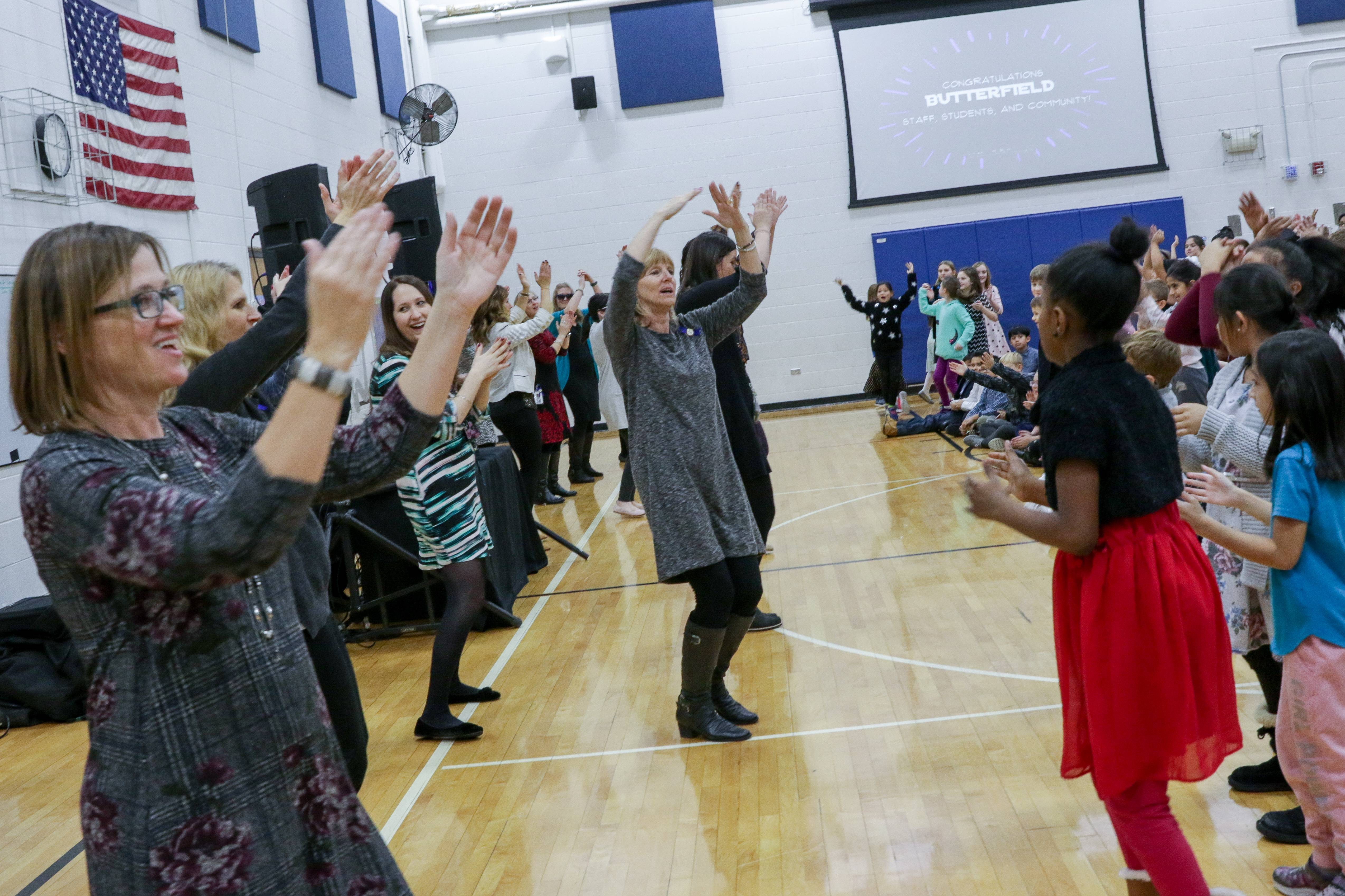 One day isn't enough to celebrate Lombard school's Blue Ribbon honor
