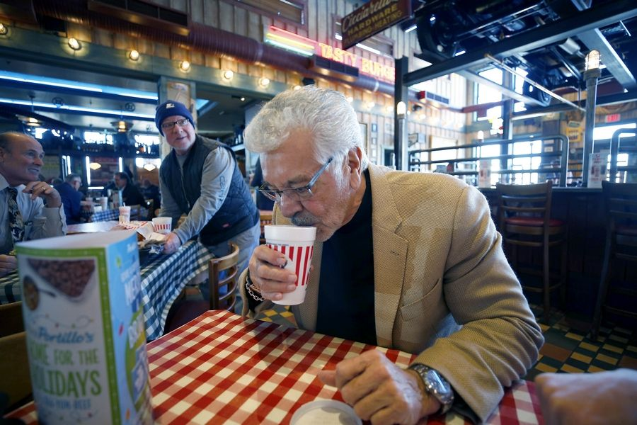For a guy with a 130-foot yacht, Dick Portillo still is at home in any Portillo's restaurant. Patrons recognize him, and some employees come over to shake his hand or give him a hug.