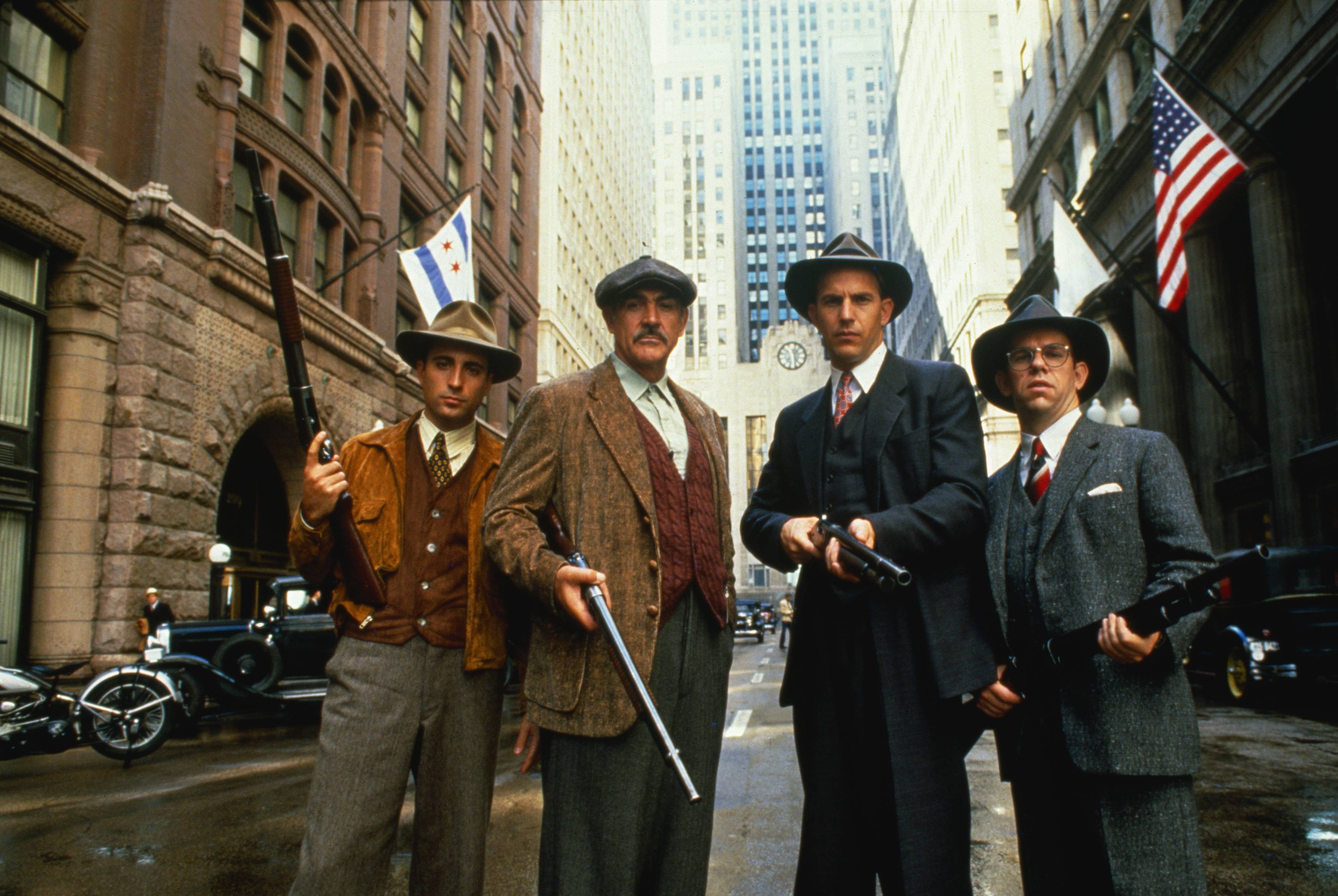 "The 1987 film ""The Untouchables"" showcased Chicago landmarks like The Rookery building, left."