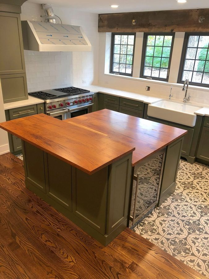 Adam and Angela Emmert plan on using their new kitchen when they celebrate their first Thanksgiving in their renovated home.