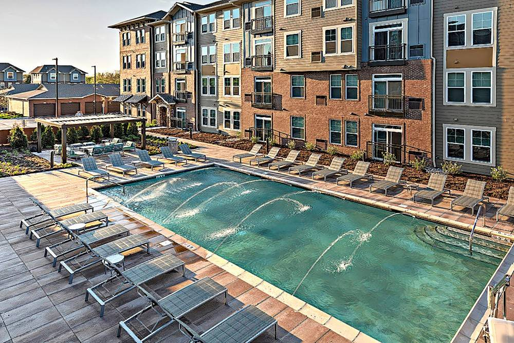 Draper and Kramer will also take over management of the complex, which includes a pool and outdoor kitchen facility for its residents.