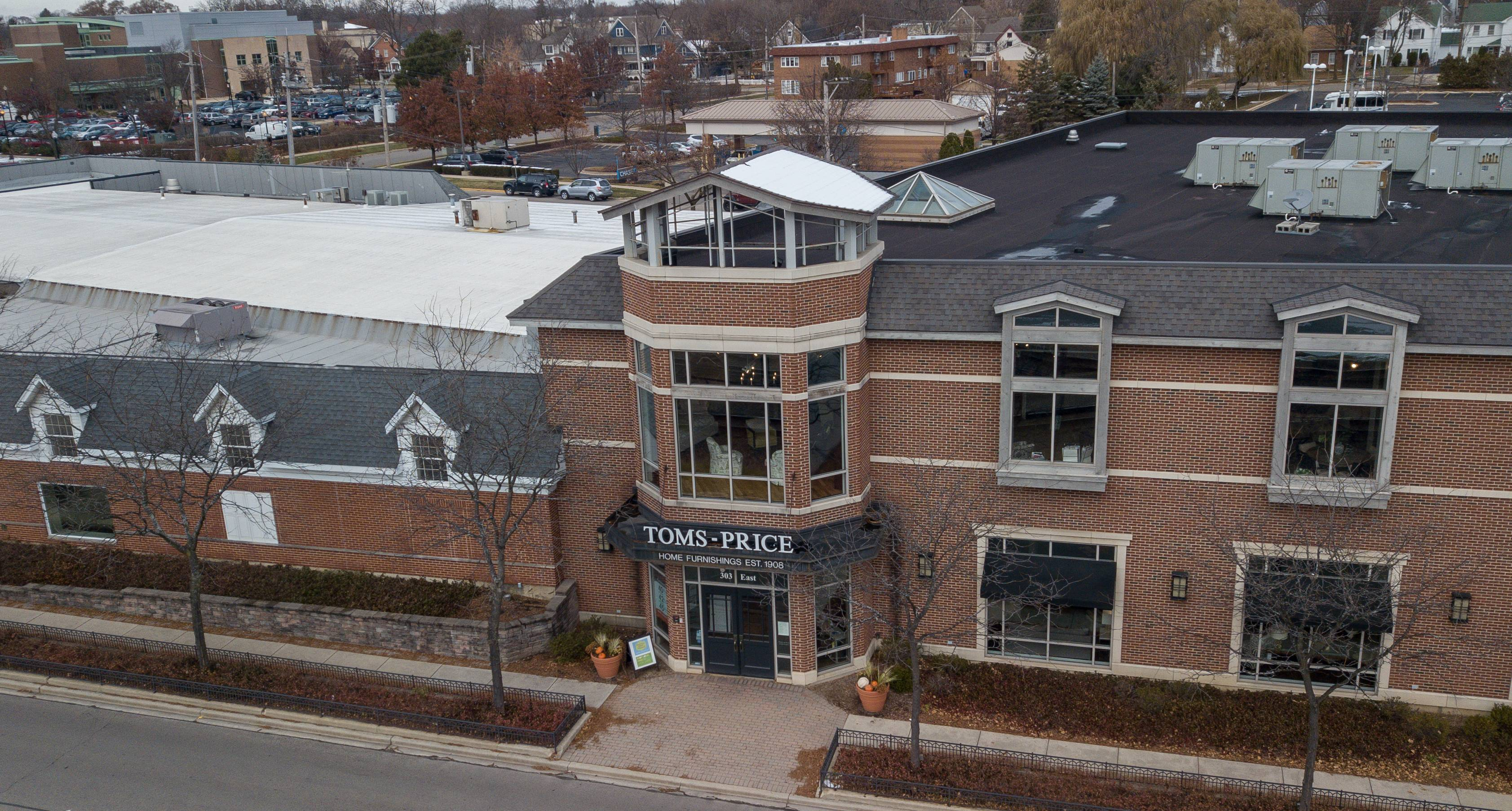Wheaton Church Has Deal To Buy Toms Price Furniture Store