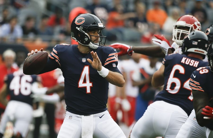 2ebb3d1b578 With Trubisky doubtful for Detroit game, Daniel could get his first start
