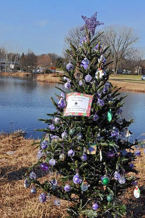 Monday, Nov. 26 is the deadline to help decorate one of many holiday trees lining the trail at Cary's Jaycee Park.