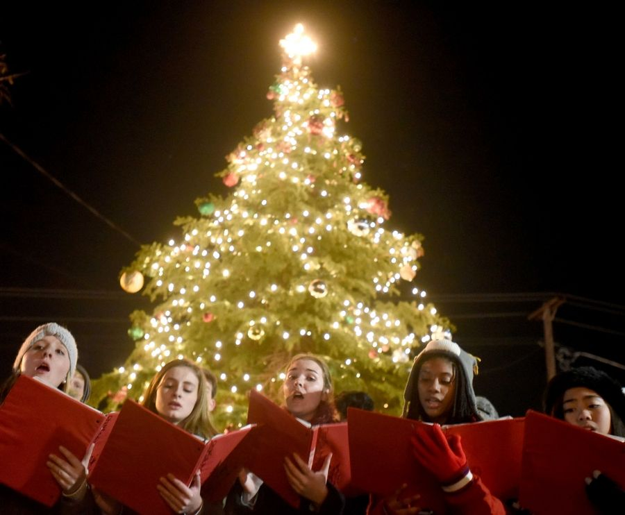 Carolers will help usher in the holidays at the Dickens in Dundee festival Nov. 30 and Dec. 1.