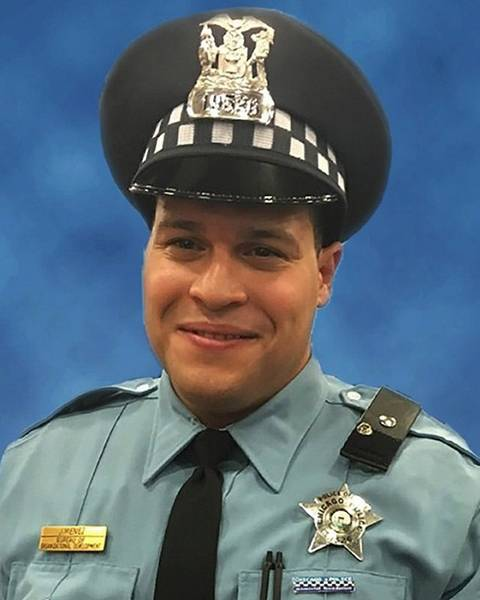 slain chicago officer s services to be in des plaines