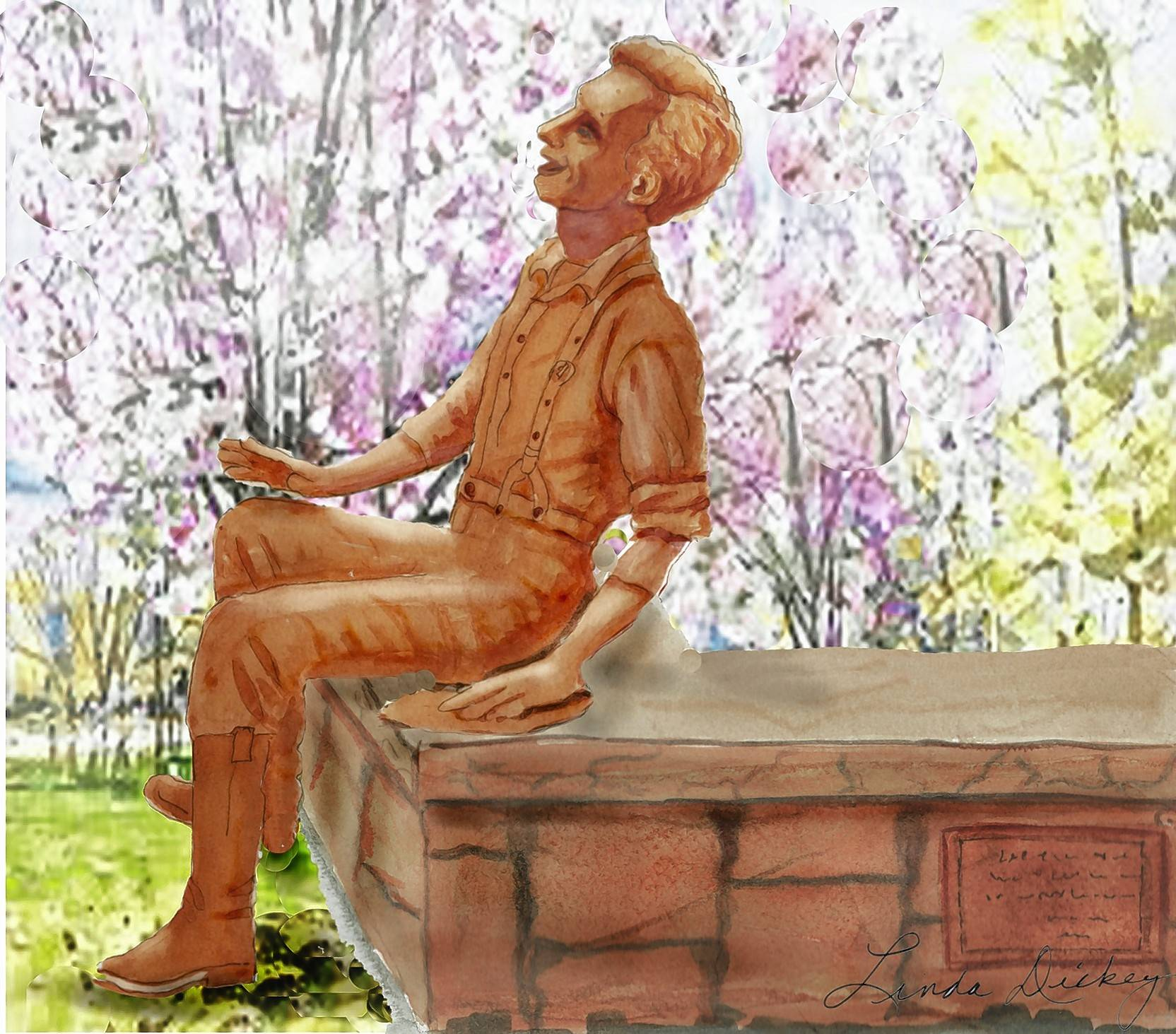 Laughing Lincoln Sculpture Coming to Naperville