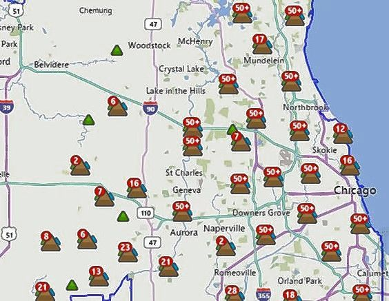 fpl grid map, con edison map, illinois gas utility map, wind energy distribution map, substation pse g map, electric utility service area map, pepco service map, on edison outage map