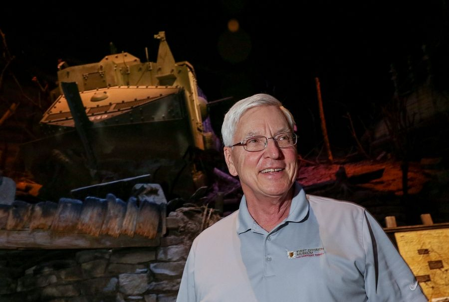 Paul Herbert, the executive director of the First Division Museum at Cantigny Park in Wheaton, is retiring after a 13-year tenure.