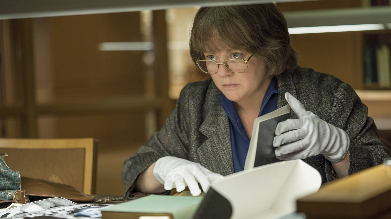 "Courtesy of Fox Searchlight PicturesPlainfield's Melissa McCarthy is earning awards season buzz for ""Can You Ever Forgive Me?"""