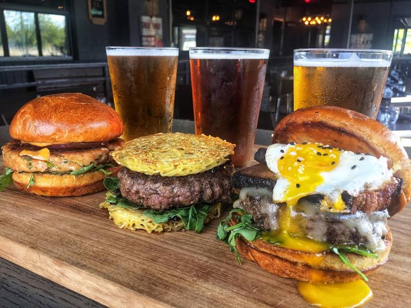 Schaumburg's Tokio Pub recently introduced a Burgers & Brews special on Wednesdays.