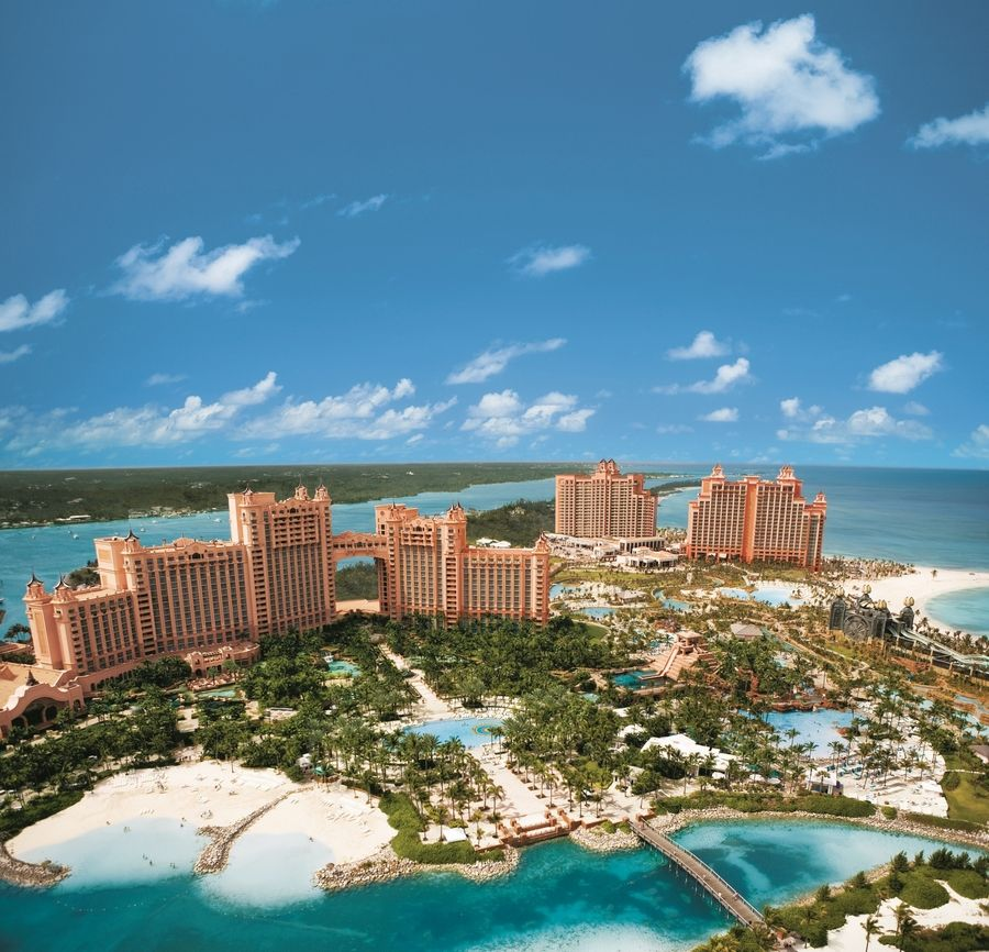 The Atlantis, Paradise Island is the host resort for the Makers Wanted Bahamas Bowl, where teams from Florida International and Toledo will be staying ahead of their matchup Dec. 21.